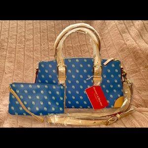 Dooney & Bourke matching purse and wallet set